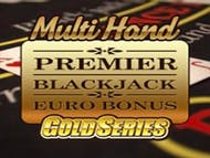 Premier Euro Bonus Blackjack GOLD