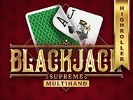 Blackjack Supreme Multihand High Roller