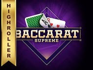 Baccarat Supreme High Roller