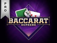 Baccarat Supreme Pro