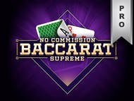Supreme Baccarat No Commission Pro